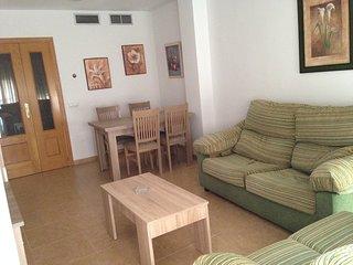 Apartamento vacacional en Roquetas de Mar, zona turistica, cerca de la playa.