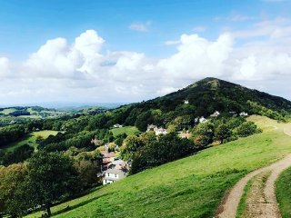 The Malvern Hills, great for keen walkers