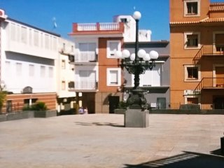 Apartment with 3 bedrooms in Calamonte, with wonderful city view and terrace