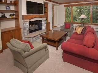 Ski-in/ Ski-out 3Br 3.5Ba Forest + Mountain Views Sleeps 8