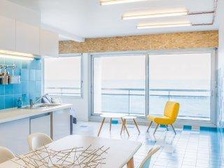 Magnifique appartement 65 m2 sur la plage, renovation 2017, grande terrasse !