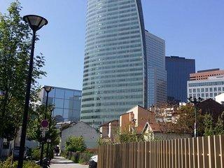 Studio parfait pour voyage d'affaire à La Défense, Paris
