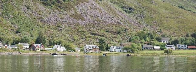 Grans and village shop etc from the water