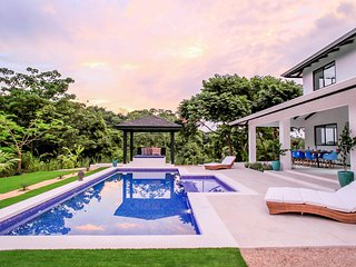 Villa Komodo at Cactus Blue Luxury Villas. 3 bedrooms, pool, exotic gardens
