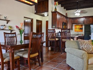 Bliss² dining room kitchen view from living room