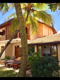 Villa Golden at the beach. This is PARADISE!