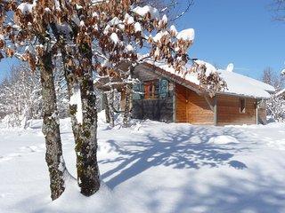 Les Lodges du hérisson - Chalet Le Gour Bleu -  entre lacs et montagnes du Jura