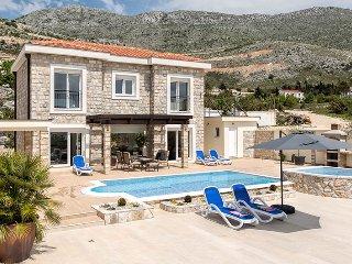Luxury Villa Tamara with private pool & jet pool near Dubrovnik