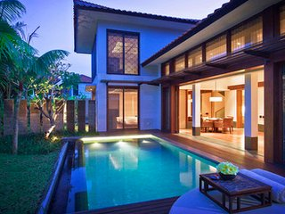 Beachfront Villa with Private Pool and Spa