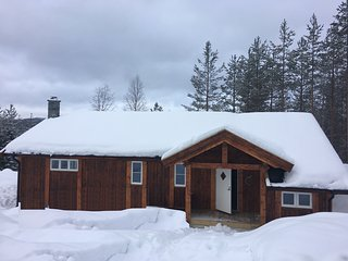 Hytter Ann - 3/4 bedroom (9 beds) Cozy Well Equipped Cabin Close to Ski Slopes