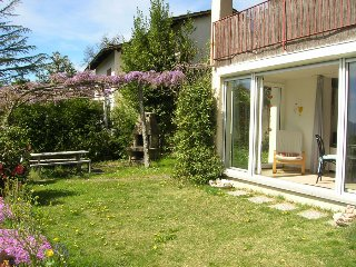 Casa Cagiallo - Apartment with Garden and Sauna near Lugano, Val Colla, Tessin