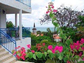 Villa VUE SUR MER plages, restaurants et village à pied