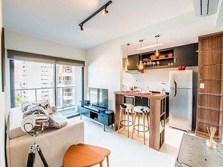 Apartamento Charmoso em Pinheiros | 40m²
