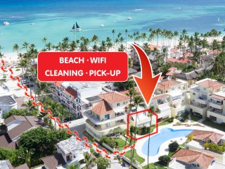 ★★★★★ VIP Pool Apartment WiFI Beach PickUp