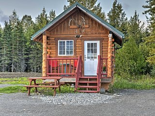 NEW! Studio Cabin in Fisherman's Haven Ninilchik!