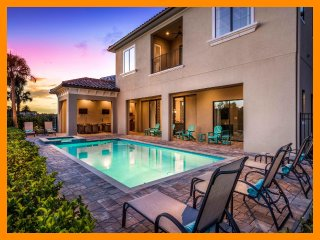 Reunion Resort 608 - 5* villa with pool, game room and home theater near Disney