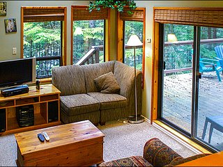 Private Deck Surrounded Only By Nature | Quiet Slope-Side Location / 215106