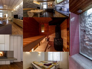 3 BDRM ap. with sauna & parking