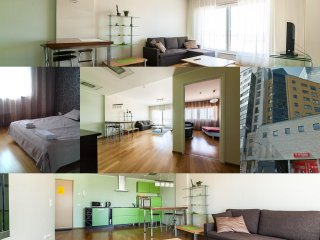 1 BDRM central apartment  for 4