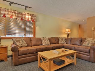 Comfortable condo w/ shared pool, hot tub, & slope views - ski-in & ski-out!
