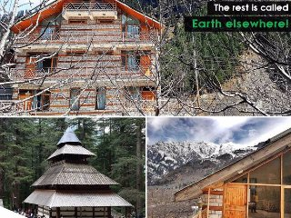 Manali Mountain Home Room 3 - Your Peaceful Abode In The Hills