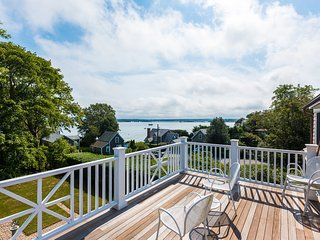 BROOM - Architect Designed, All Newly Renovated, West Chop Area,  Waterviews,  W