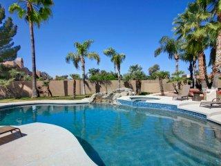 Scottsdale gorgeous 7 bedroom / 5200 sqft remodeled, BACKYARD IS HUGE PARADISE,