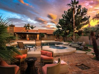 Scottsdale gorgeous 7 bedroom / 5200 sqft remodeled, BACKYARD IS HUGE PARADISE,