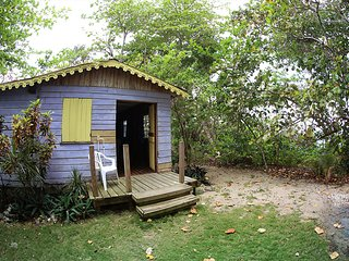 Purple Cabin At half Moon Beach