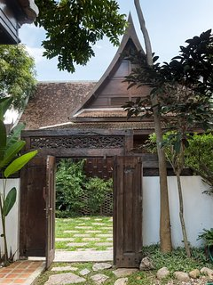 Connecting door to twin villa