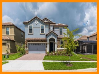 Championsgate 103 - 5 star villa with private pool and game room near Disney