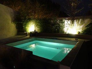 Bassin-Spa avec ou sans bulles,au choix