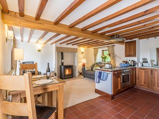 Old Byre, cosy and warm.