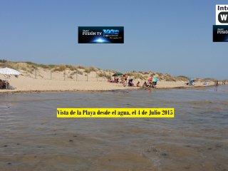 Chalet pareado en primera linea de playa en Chipiona