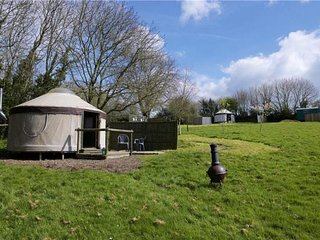 Linnet yurt, near River Cottage, Lyme Regis,