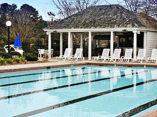 The Historic Powhatan Resort Pool Exterior