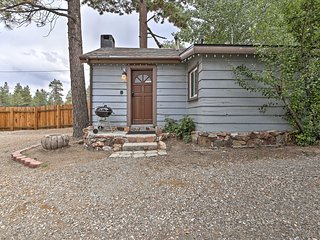 NEW! 'Kit Fox' Charming Big Bear Lake Studio Cabin