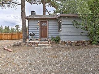 NEW! 'Kit Fox' Charming Big Bear Lake Studio Cabin