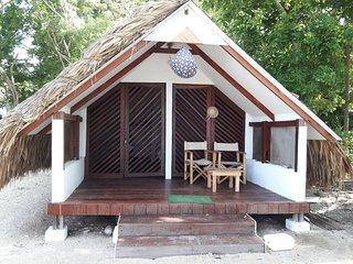 Eco hotel islabela,Islas del Rosario, Cartagena de Indias, Colombia.