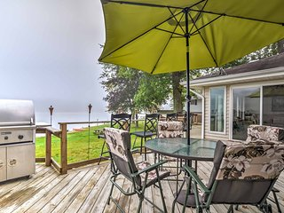 Lakefront Battle Creek Home w/ Dock, Deck & Grill!