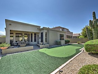 Upscale Phoenix Home w/ Backyard Patio Near Golf!