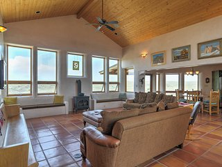 Traditional Taos Home on 26 Acres w/ Mtn Views!
