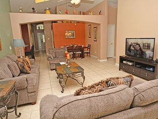2589OL. 5 Bedroom Luxury Pool & Spa Home In KISSIMMEE FL