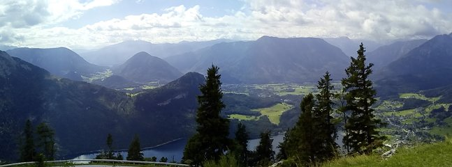 altaussee from the top of loser