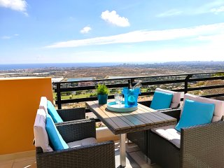 NEW/MODERN - Lovely Oasis Azul, Bonalba Golf (1A) - Sea & Golf views