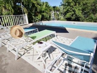 Villa Serenity, piscine et ponton prive, plage a pied