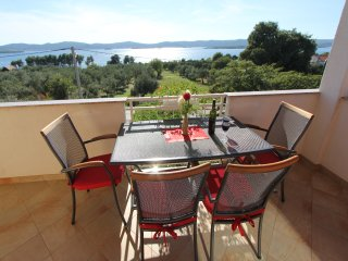 Apartments Anka- Two Bedroom Apartment with Balcony and Sea View (A1)