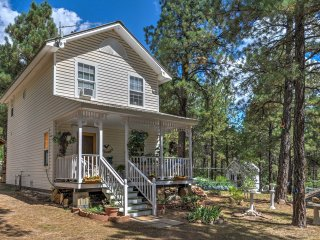Secluded Pagosa Springs Home w/Porch & Wooded Yard