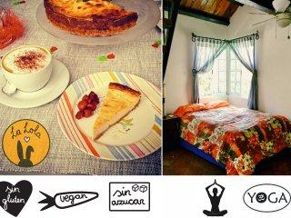 #3Private room in city centre, vegan&gluten free breakfast, yoga