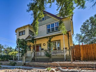 Charming Colorado Springs Home w/Yard in Downtown!
